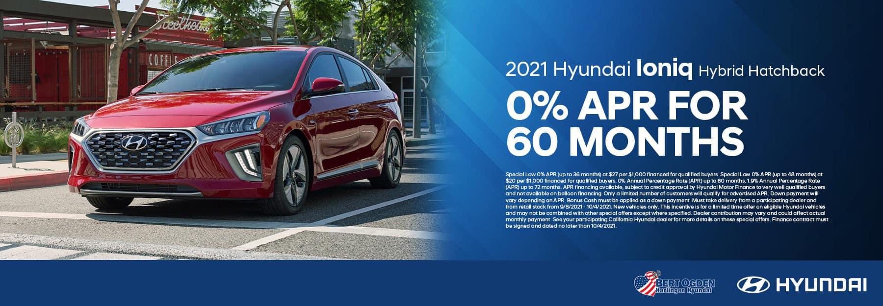 2021 Hyundai Ioniq Hybrid Offer   Bert Ogden Hyundai in Harlingen, Texas