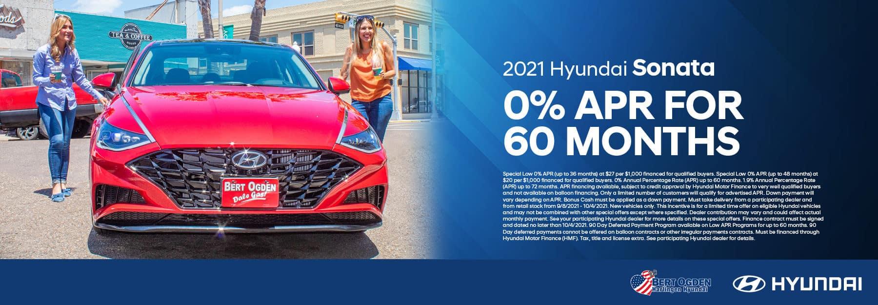 2021 Hyundai Sonata Offer   Bert Ogden Hyundai in Harlingen, Texas