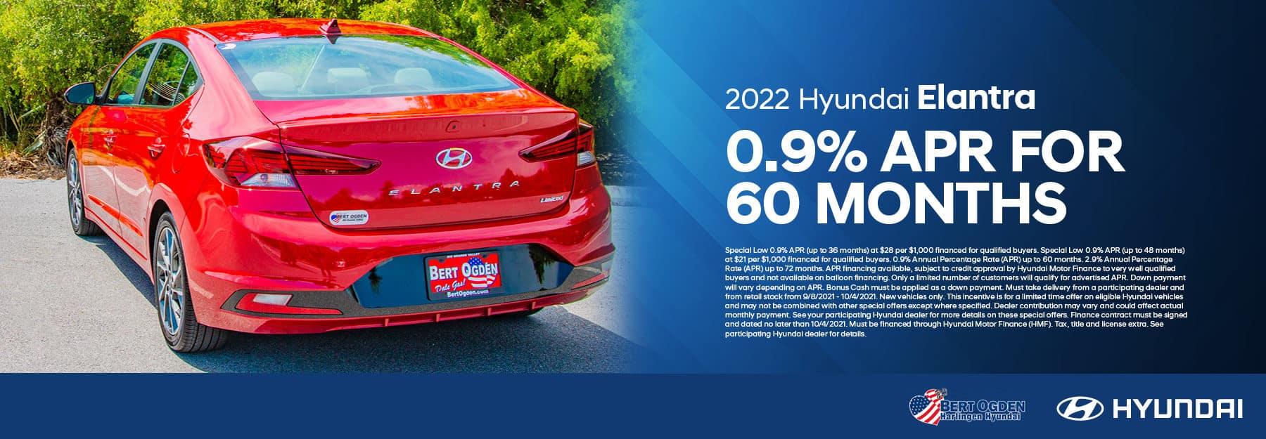 2022 Hyundai Elantra Offer   Bert Ogden Hyundai in Harlingen, Texas