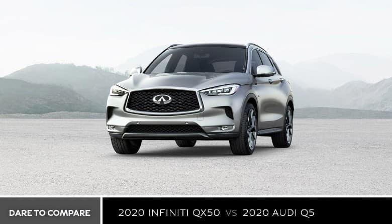 2020 INFINITI QX50 vs. 2020 Audi Q5 - Bert Ogden INFINITI in Edinburg, TX