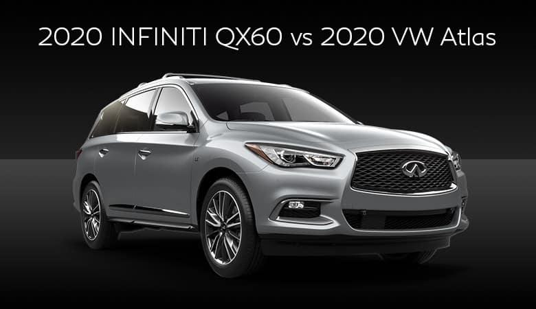 2020 INFINITI QX60 vs. 2020 Volkswagen Atlas | Bert Ogden INFINITI | Edinburg, TX