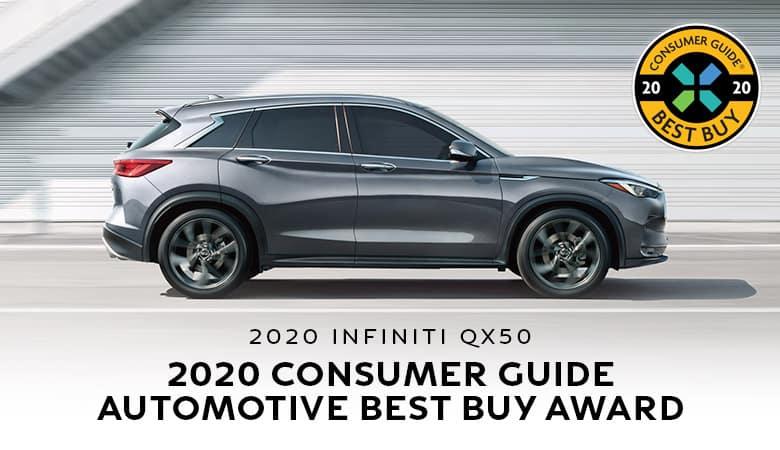 2020 INFINITI QX50 Earns Consumer Guide Best Buy Award | Bert Ogden INFINITI | Edinburg, TX