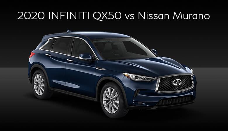 2020 INFINITI QX50 vs. Nissan Murano | Bert Ogden INFINITI | Edinburg, TX