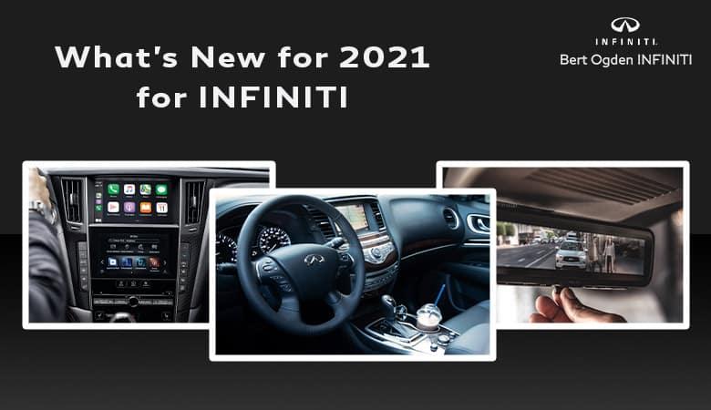 What's New for the INFINITI Lineup in 2021 | Bert Ogden INFINITI | Edinburg, TX
