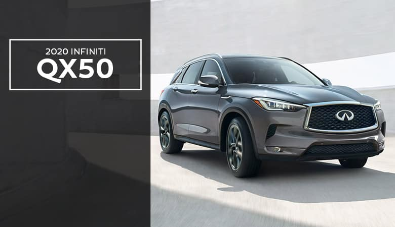 2020 INFINITI QX50 Spotlight | Bert Ogden INFINITI | Edinburg, TX