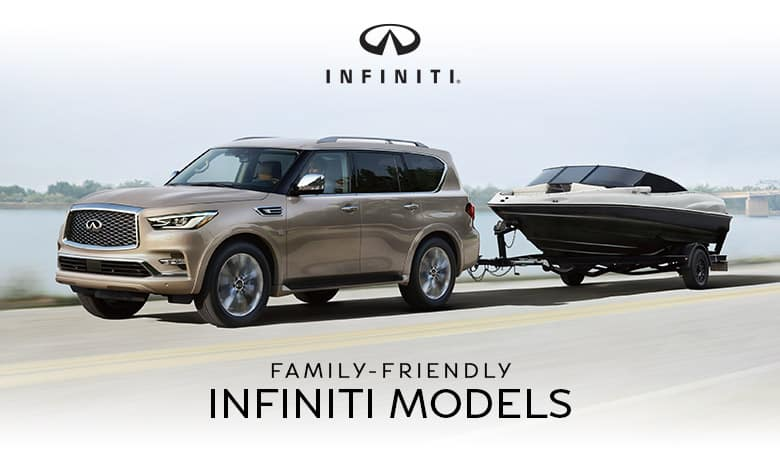 Family-Friendly INFINITI Models | Bert Ogden INFINITI | Edinburg, TX