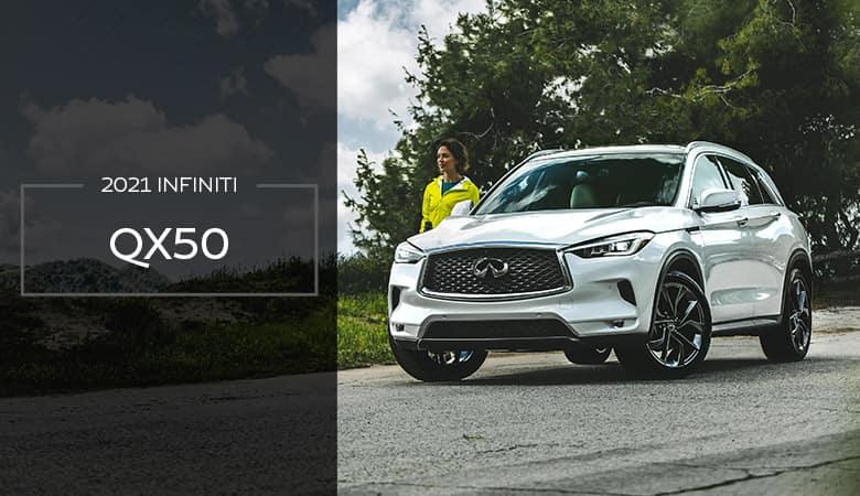 2021 INFINITI QX50 | Bert Ogden INFINITI | Edinburg, TX