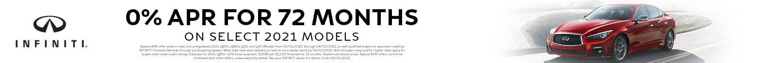 Get 0% APR For 72 Months | Bert Ogden INFINITI | Edinburg, TX