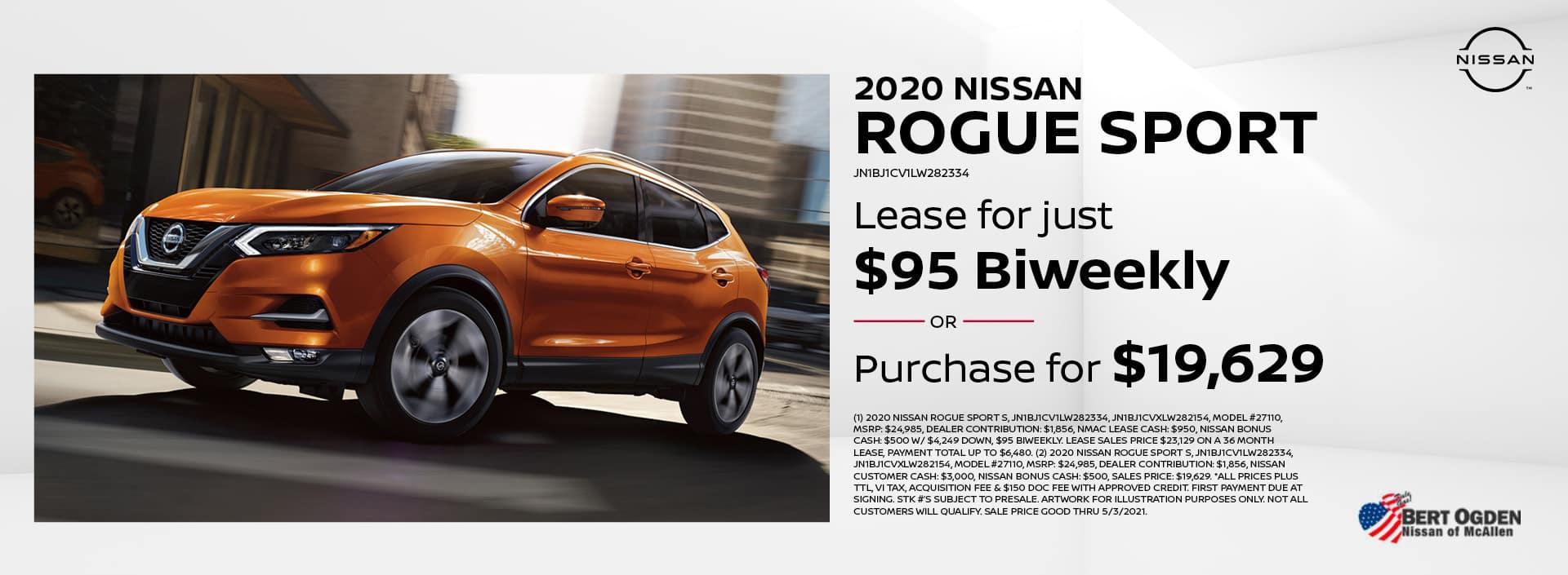 2020 Nissan Rogue Sport | McAllen, TX