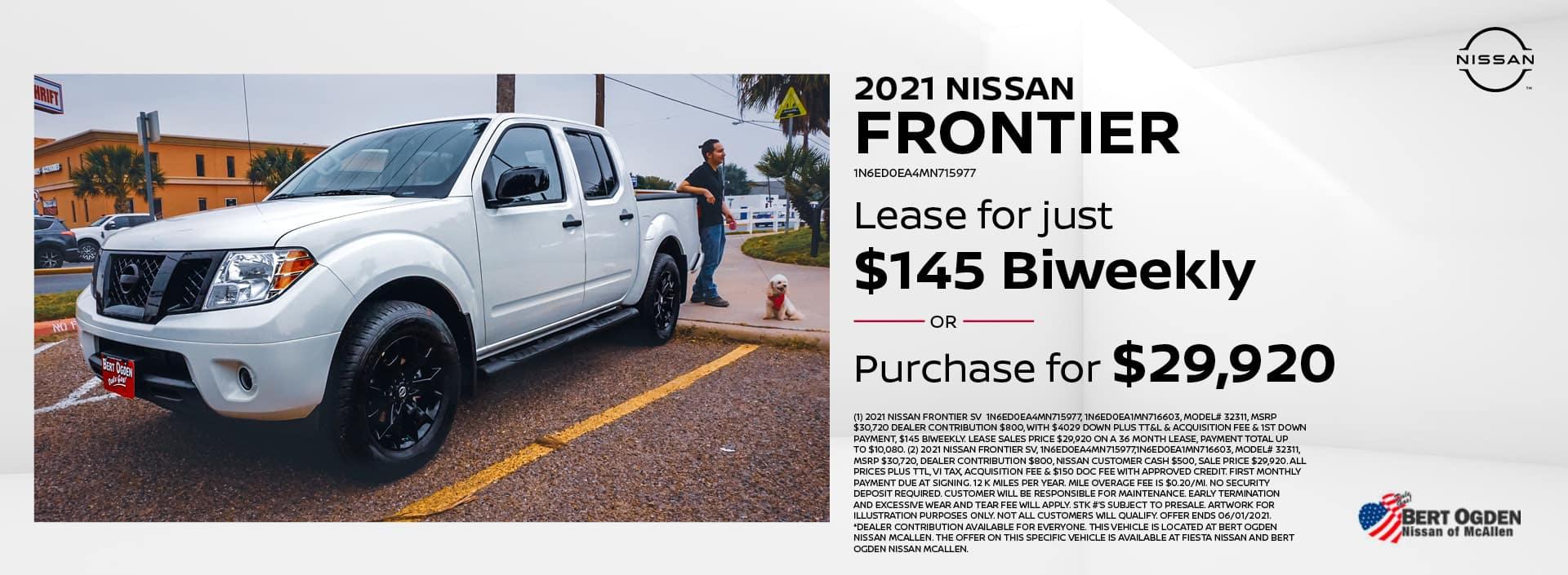 2021 Nissan Frontier | McAllen, TX