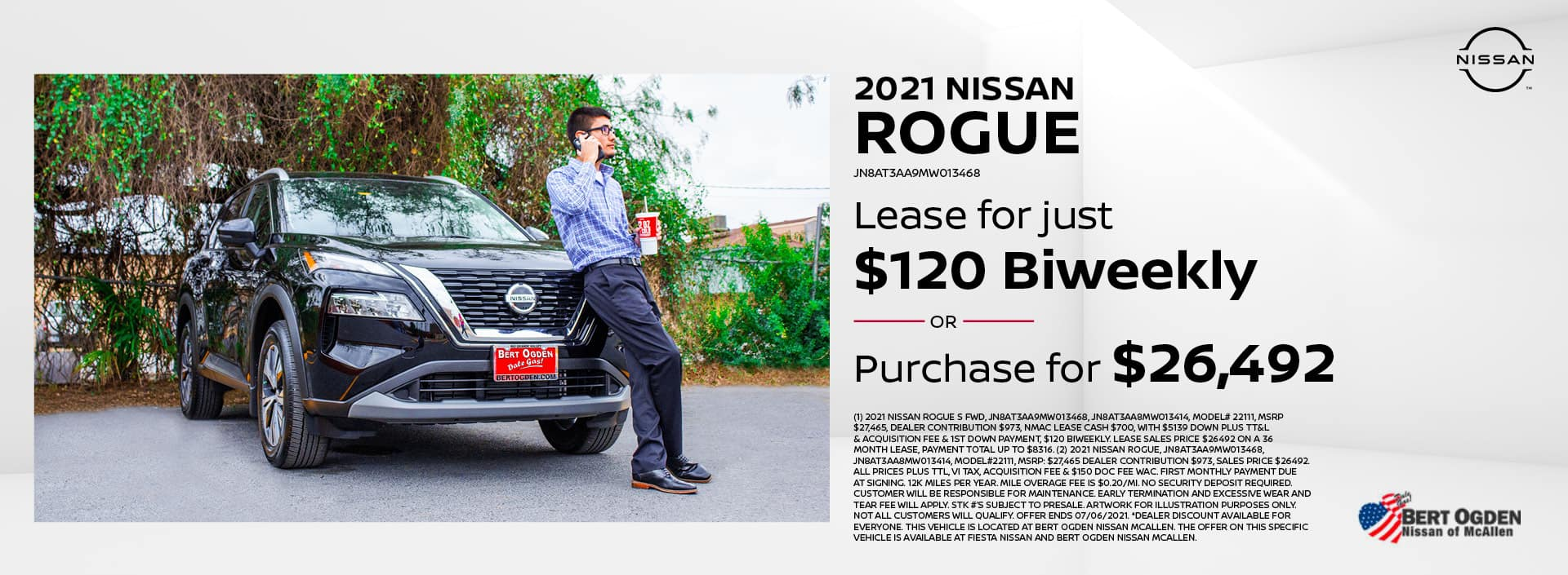 2021 Nissan Rogue | McAllen, TX