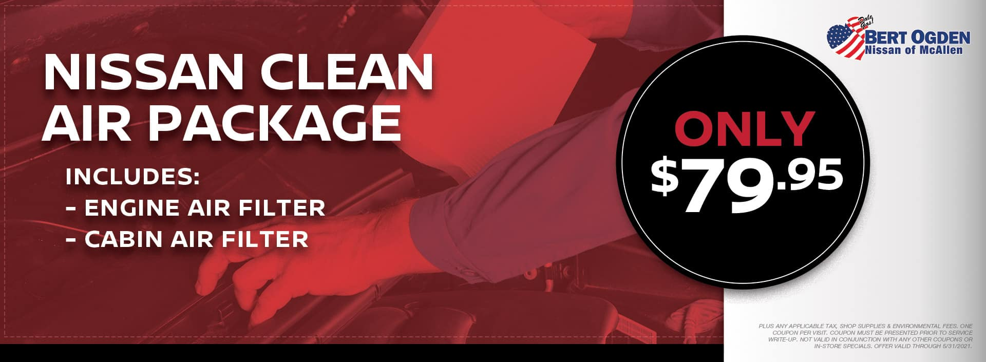 Clean Air Package | McAllen, TX