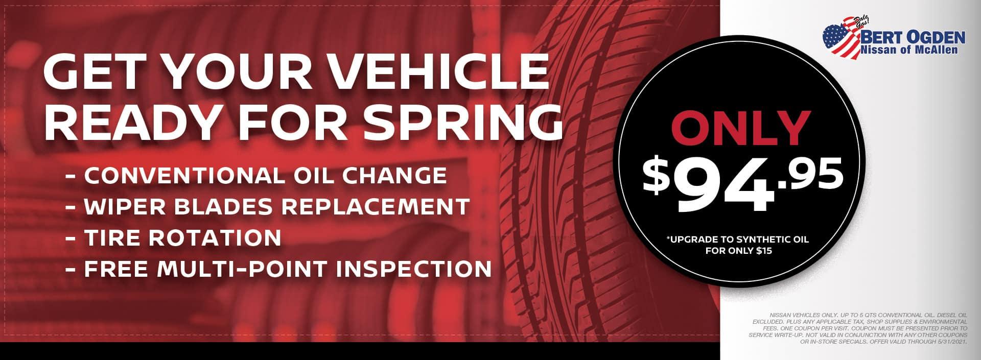 Spring Service | McAllen, TX