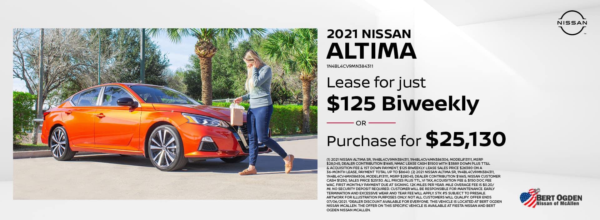 2021 Nissan Altima | McAllen, TX