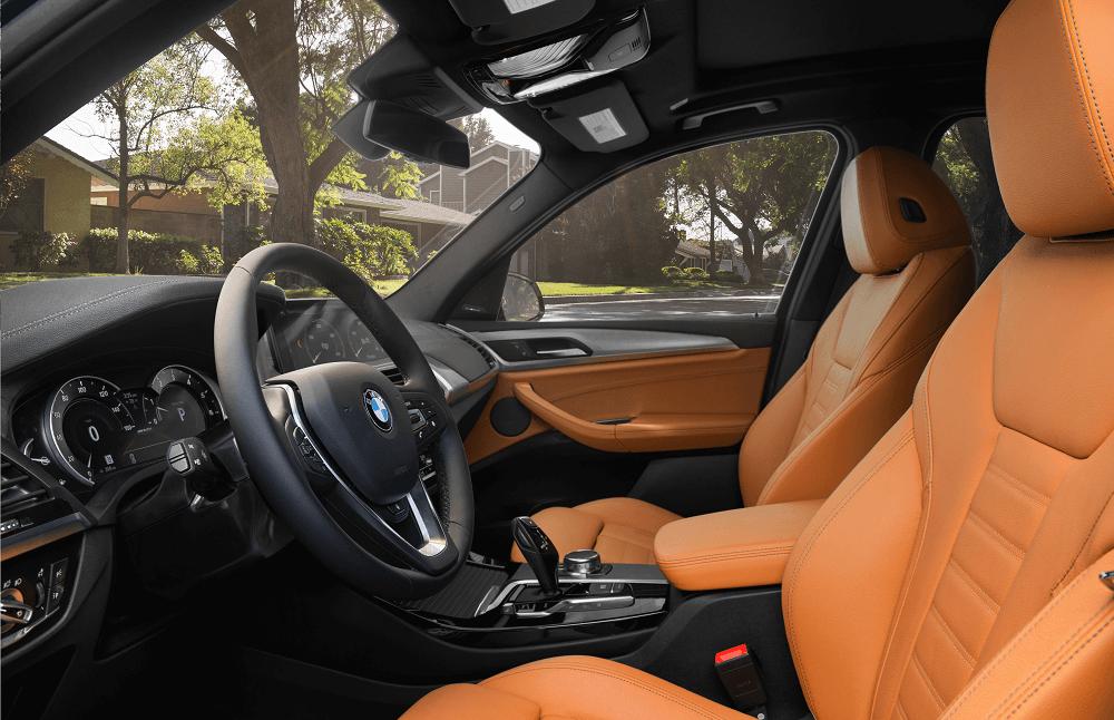 BMW X3 Interior Seats