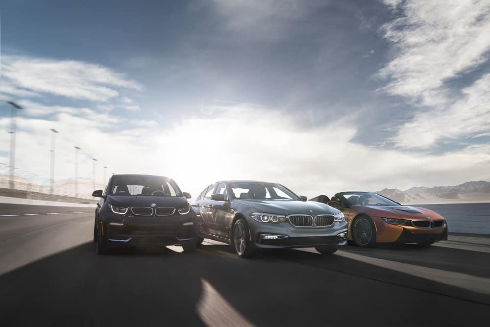Multiple BMW Vehicles