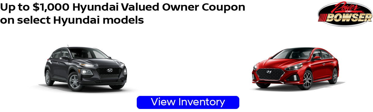 Hyundai Valued Owner Incentive