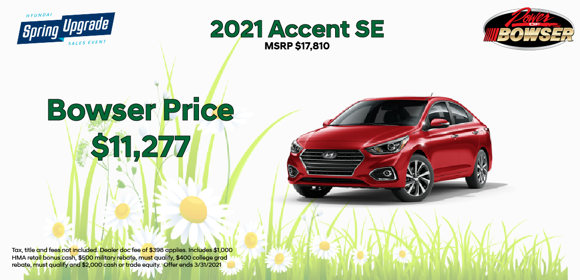 2020 Accent Special Offer