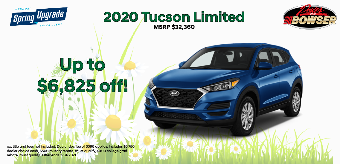 2020 Tucson Special Offer