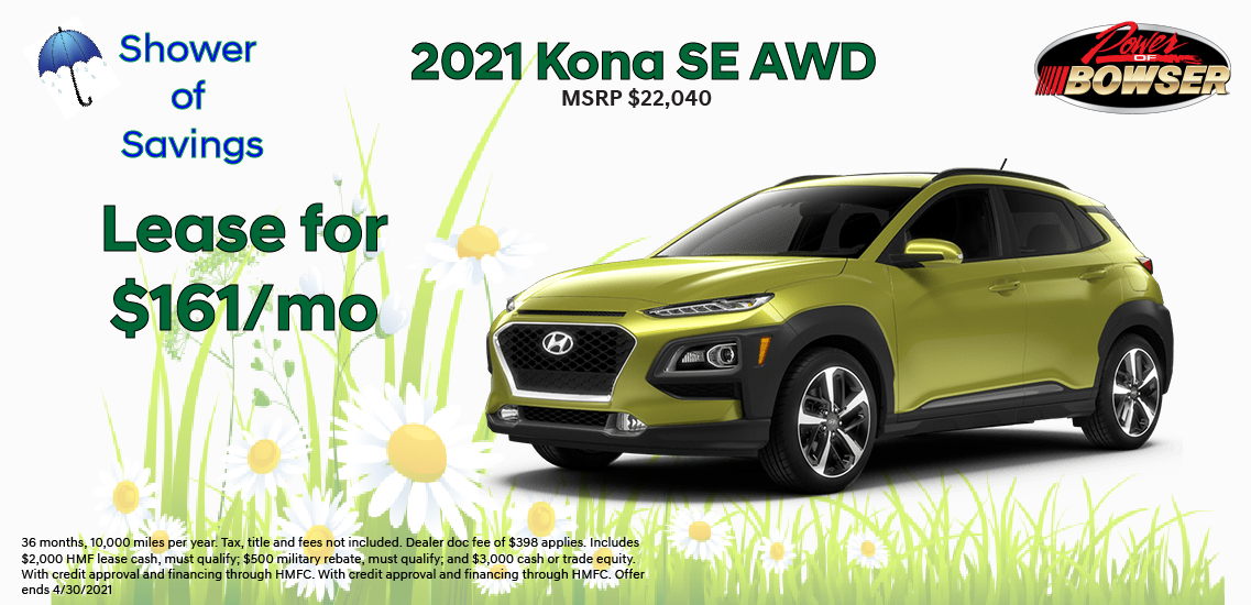 2021 Kona Special Offer