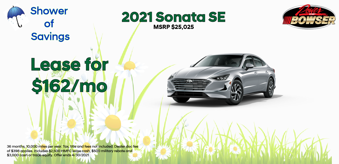 2021 Sonata Special Offer
