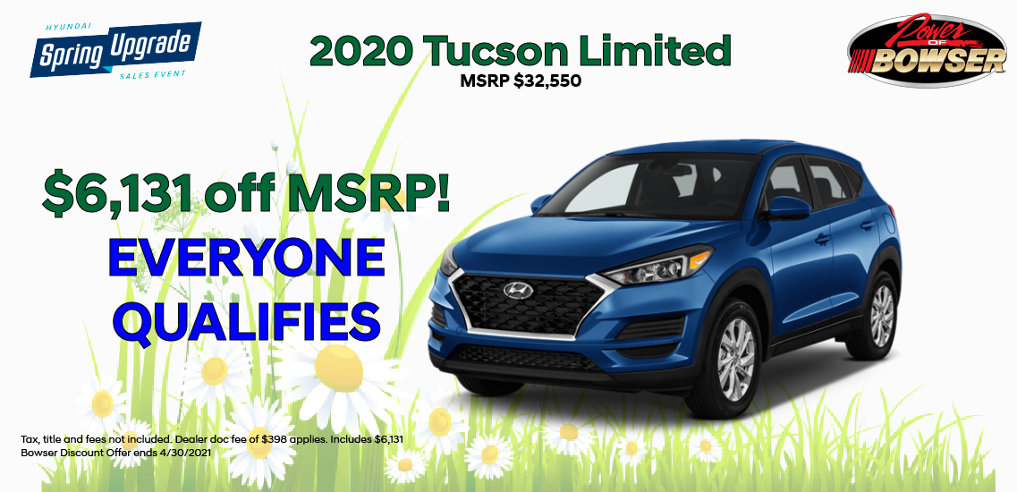 2020 Tucson Limited Special Offer