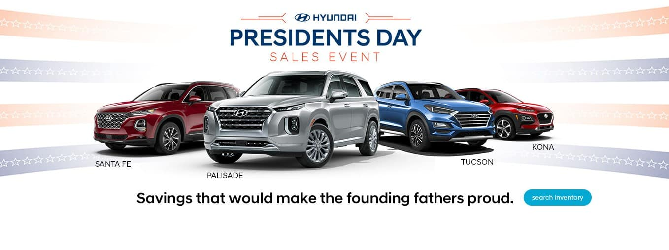 Hyundai President's Day Sales Event