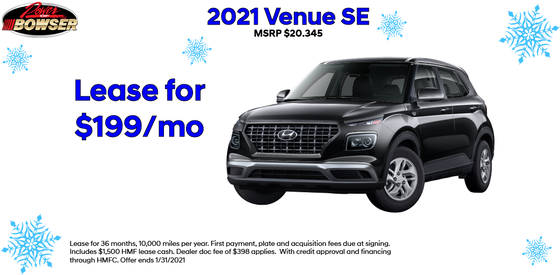 2021 Venue Special Lease Offer