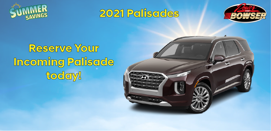 Reserve Your Palisade