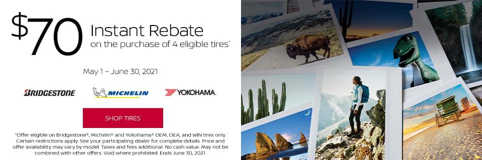 Nissan Tire Savings