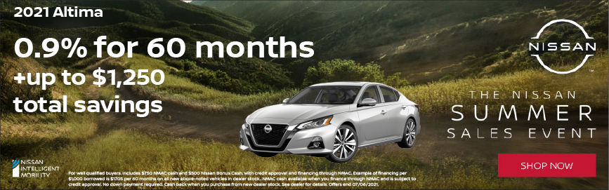 2021 Altima Special Offer