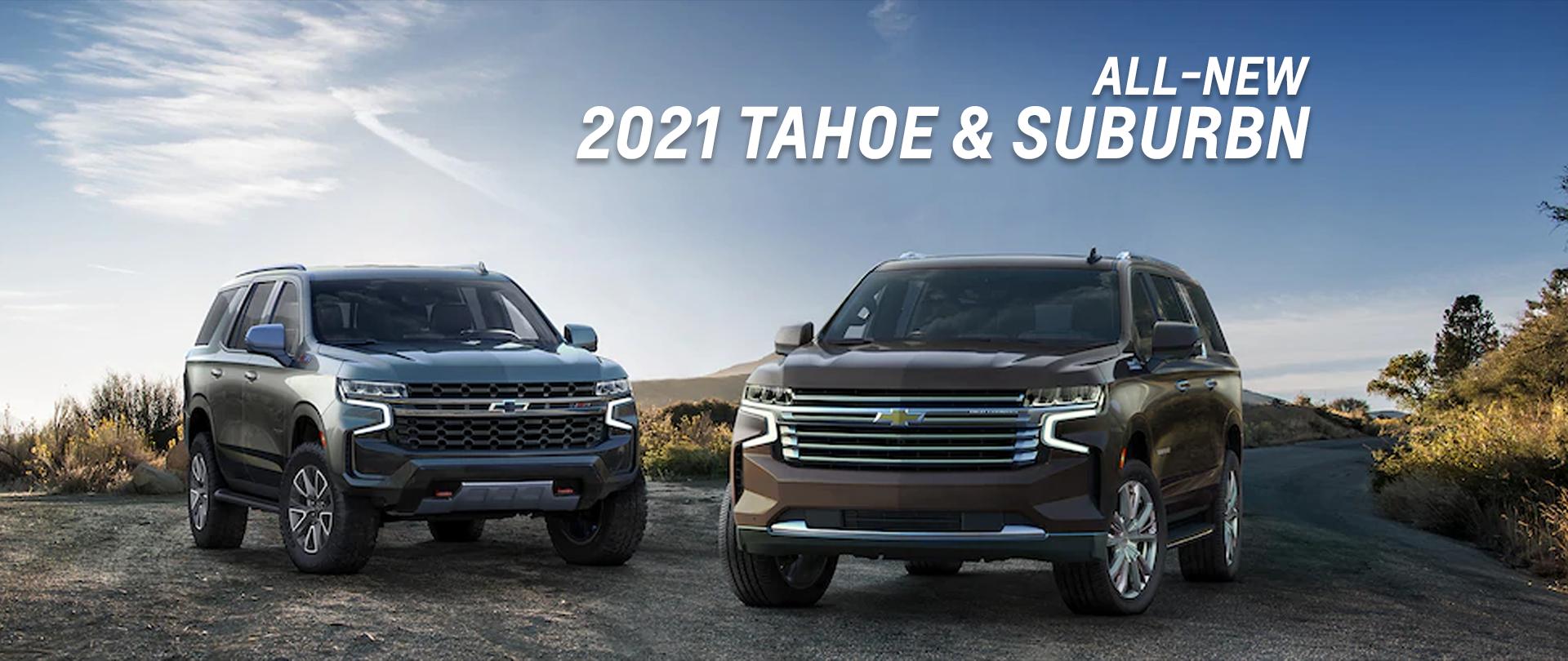 2021-Chevrolet-Tahoe/Suburban