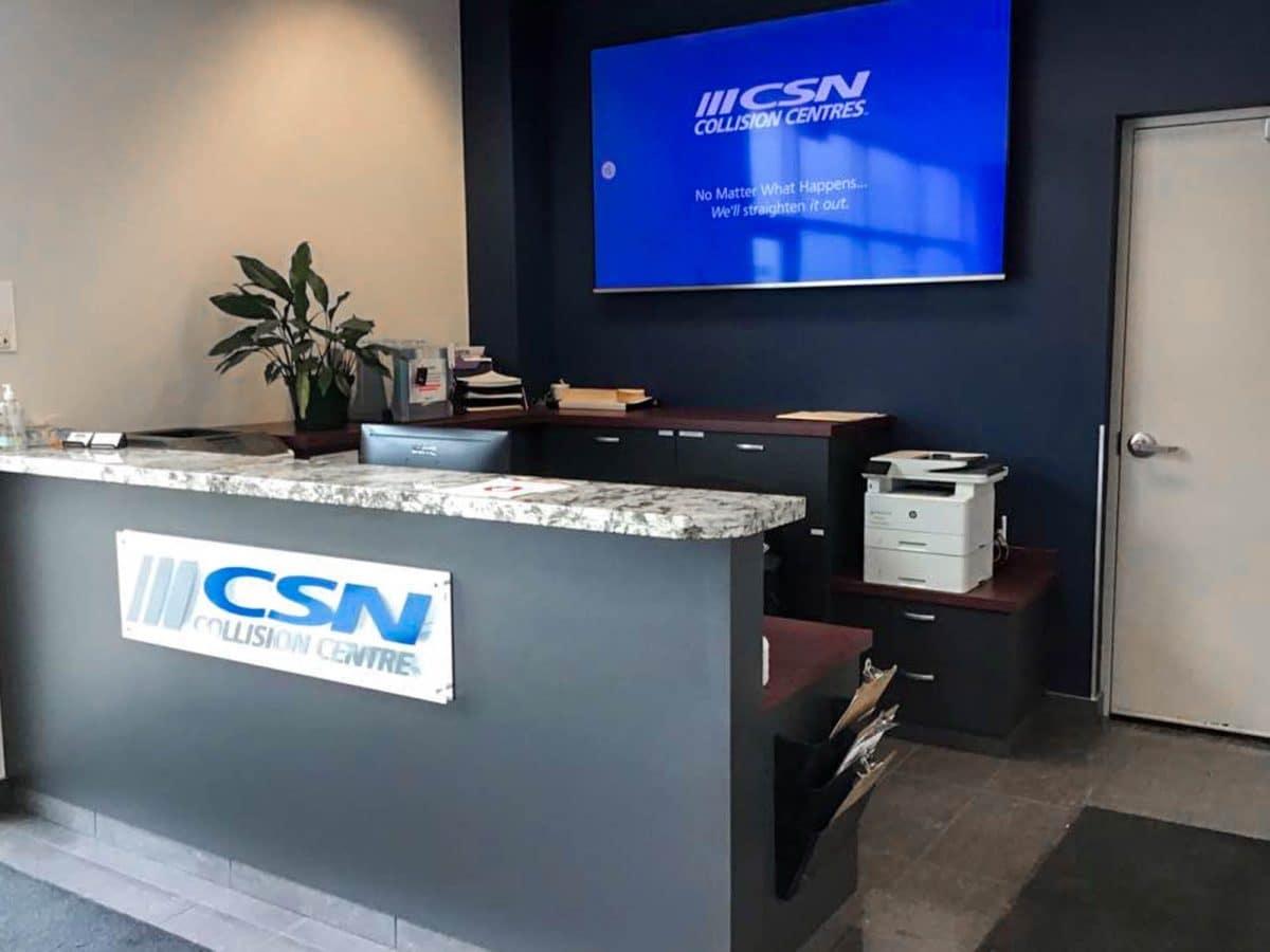 Capital Collision Center Desk