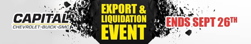 Export and Liquidation Event