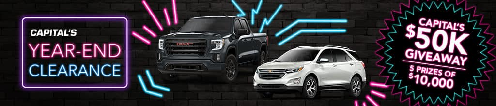 Capital Auto Group's Year End Clearance!