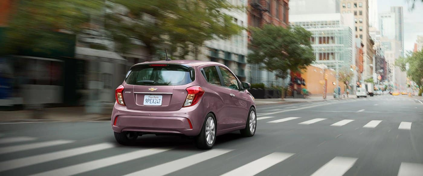 2021 Chevy Spark driving on road