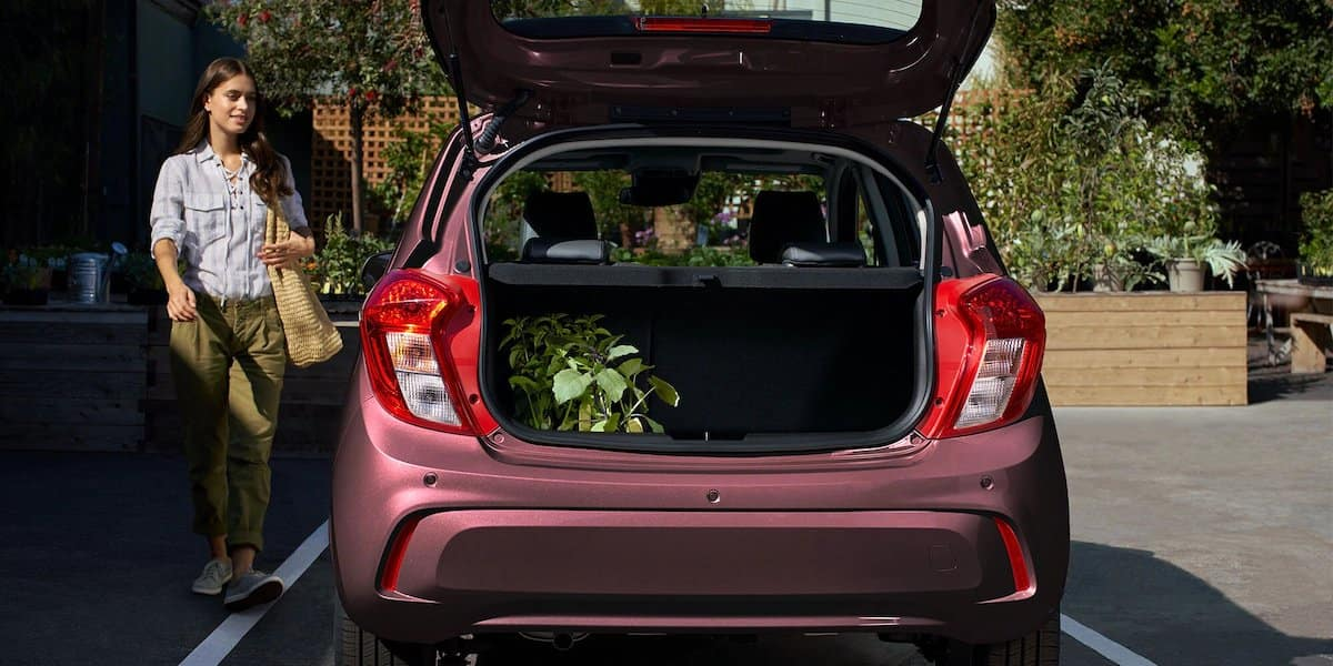 2021 Chevy Spark Trunk Display
