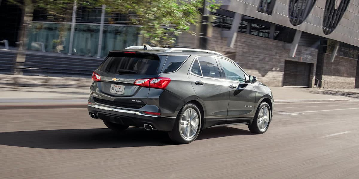 2020 Chevrolet Equinox Driving on Road