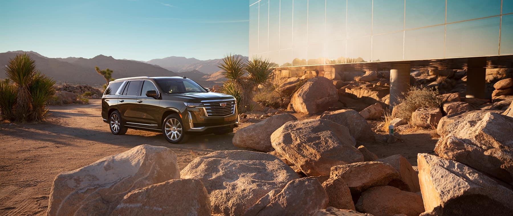2021 Cadillac Escalade in desert