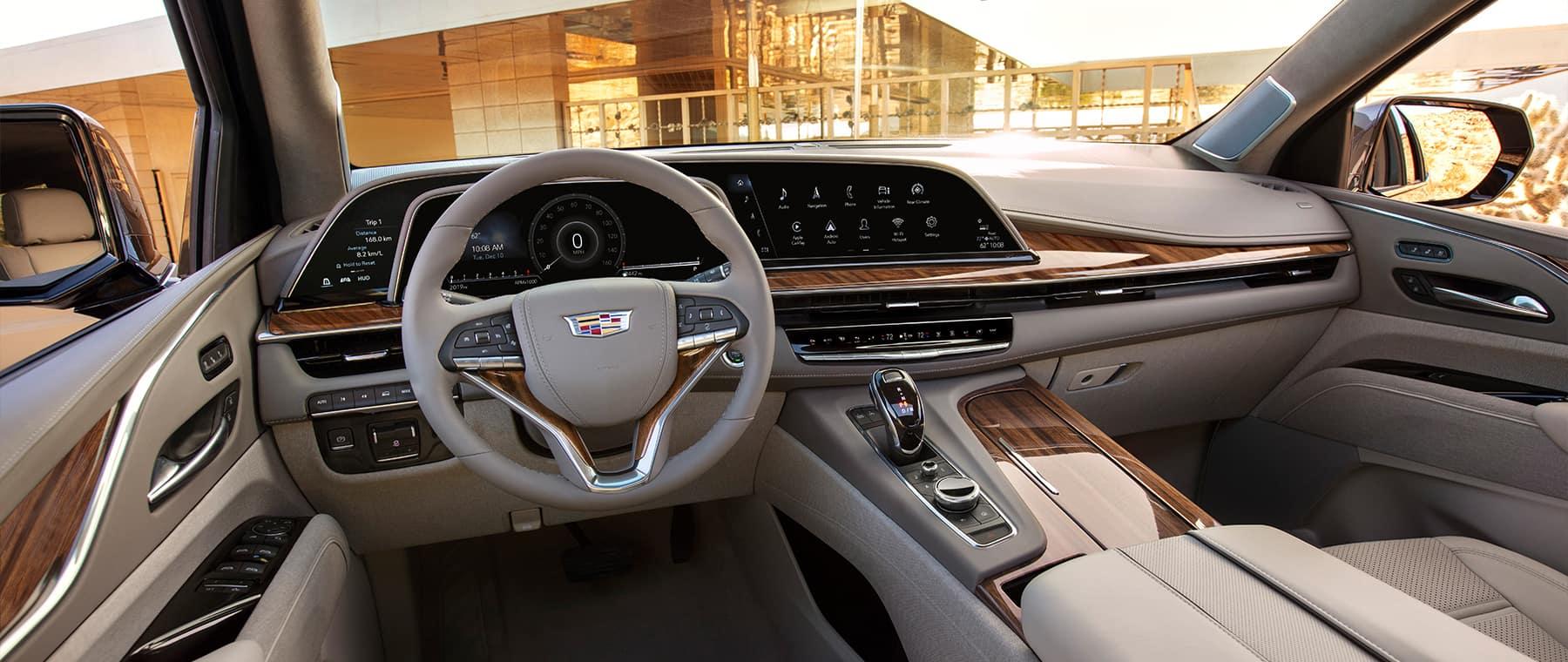 2021 Cadillac Escalade dash board