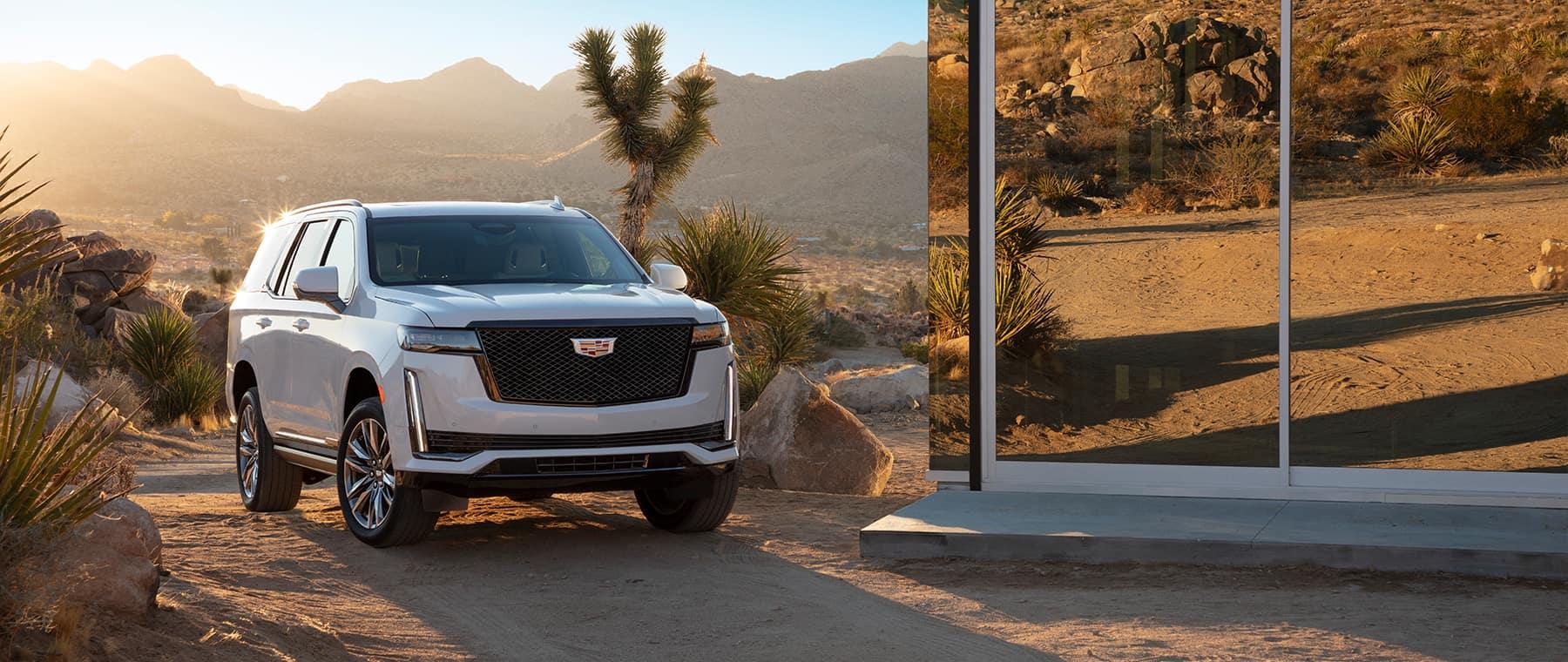 2021 Cadillac Escalade outside of home
