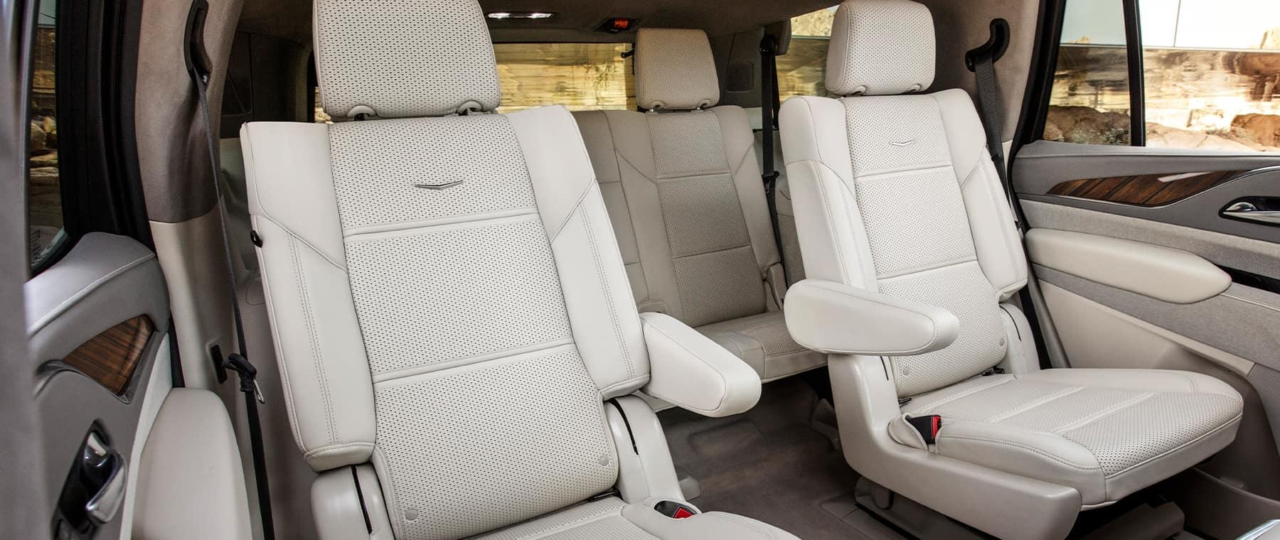2021 Cadillac Escalade back seats