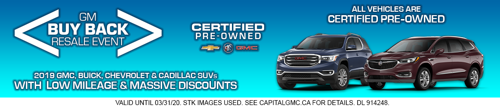 GM Buy Back Resale Event