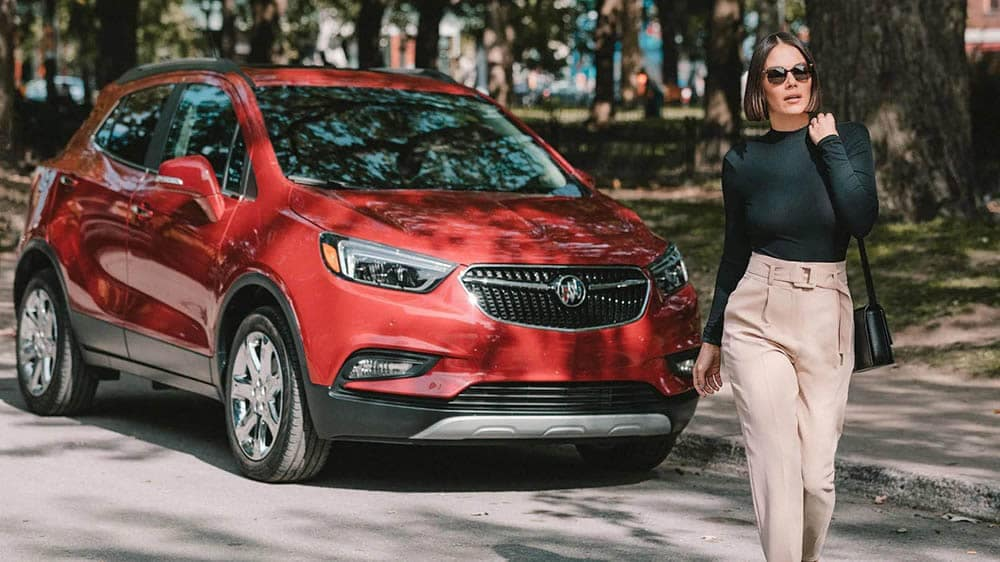 2020 Buick Encore Parked