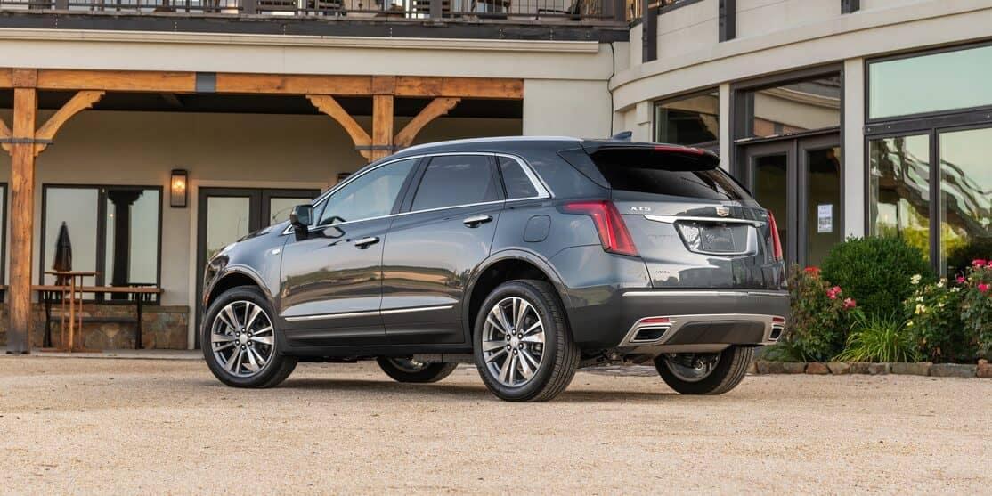 2020 Cadillac XT5 Rear CA