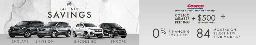 2020 Buick Encore Costco Member Pricing