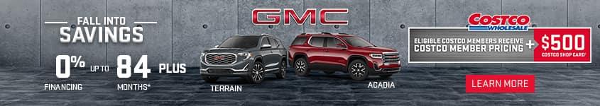 2020 GMC Terrain Costco Member Pricing