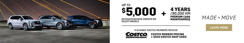 2020 Cadillac XT4 Costco Member Pricing