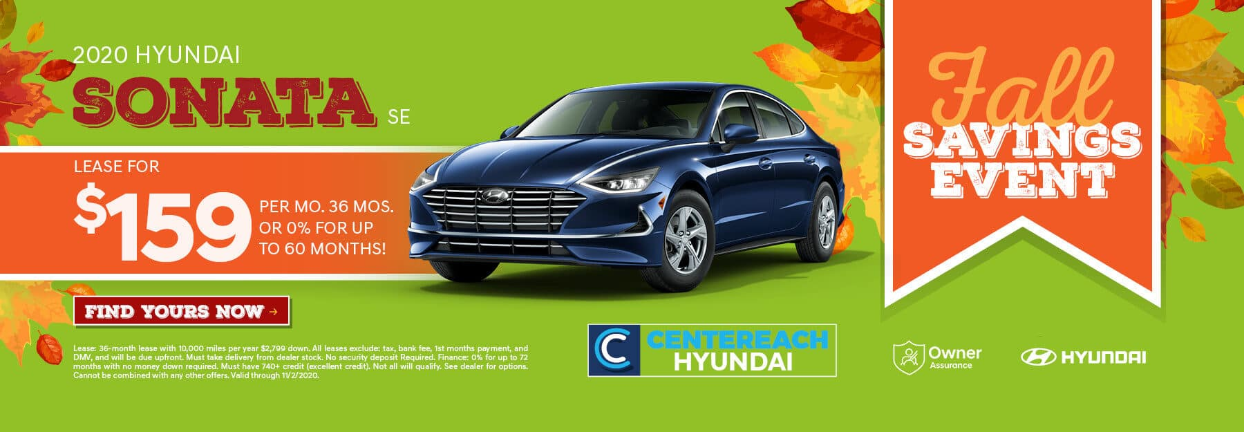 2020.10.08 Centereach Hyundai OCT Offer Banners_S49005mr-as3