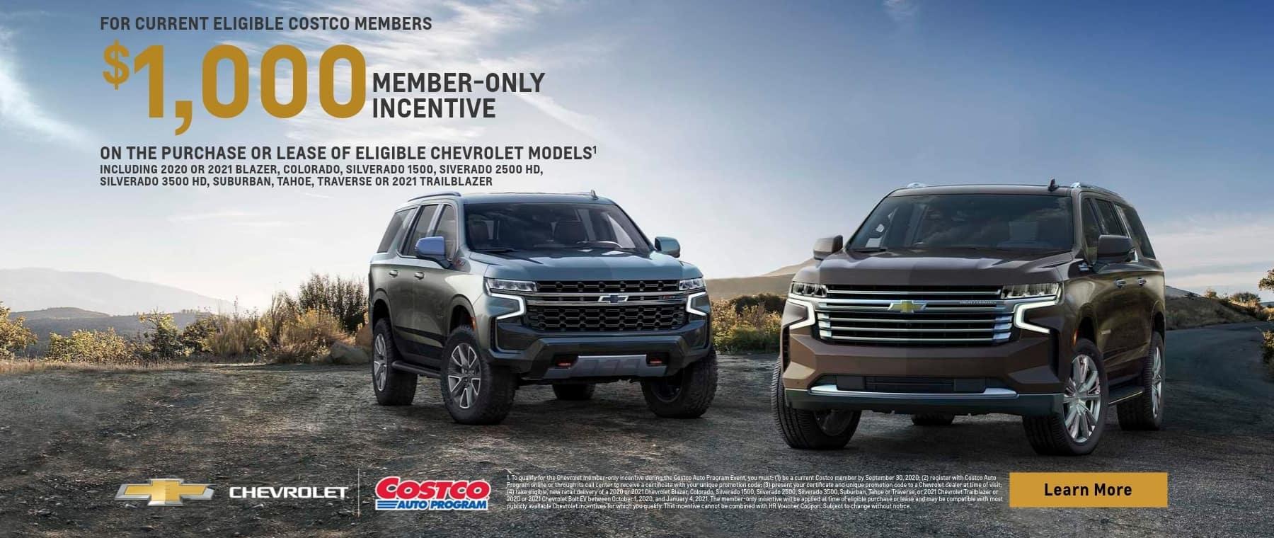 Costco Member $1,000 Incentive